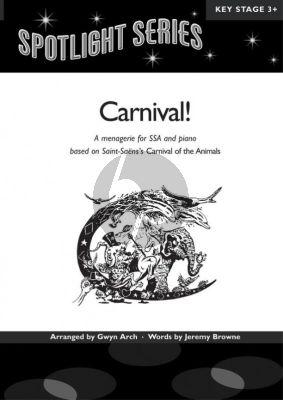 Saint-Saens Carnival! SSA-Piano (arr. Gwyn Arch)