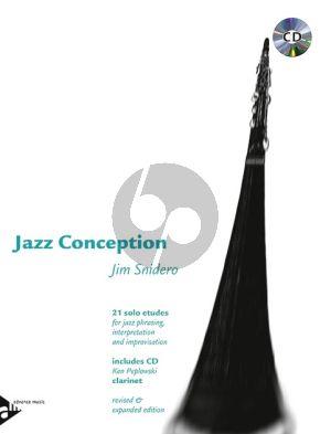 Snidero Jazz Conception Clarinet (21 Etudes Jazz Phrasing- Interpretation-Improvisation) (Bk-Cd)