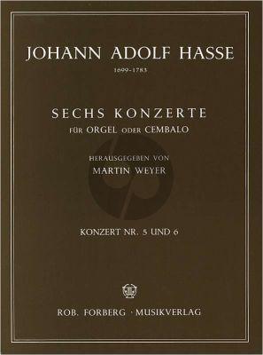 hasse 6 Konzerte No.5 - 6 Orgel oder Cembalo (Martin Weyer)