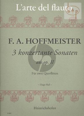 3 Konzertante Sonaten aus Op.2