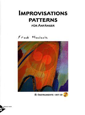 Mantooth Improvisations Patterns fur Anfanger Bb Instrumente (Bk-Cd)