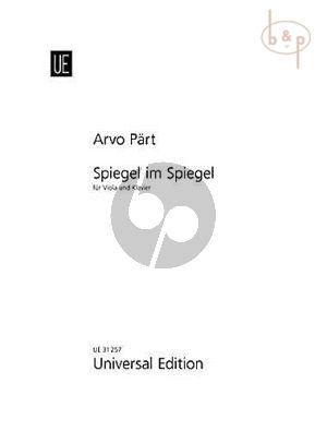 Part Spiegel im Spiegel (Viola-Piano)