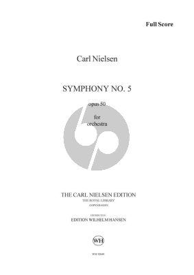 Nielsen Symphony No. 5 Opus 50 Full Score