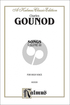 Gounod Complete Songs vol.3 (High Voice)