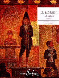 Rossini La Danza Piano solo (transcr. Piano facile par Heumann)