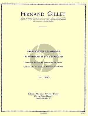 Exercises sur les Gammes - Intervalles et Staccato Hautbois