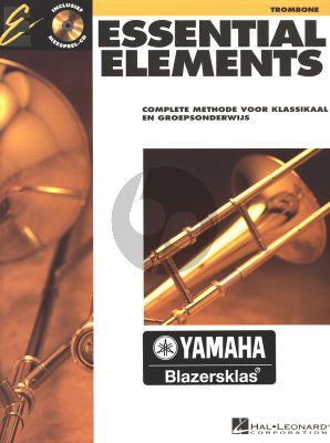 Essential Elements Vol.1 Trombone BC (Bk-Cd) (Complete Methode voor Klassikaal en Groepsonderwijs) (nederlands)
