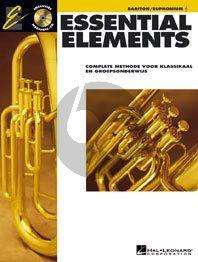 Essential Elements Vol.1 Bariton/Euphonium (TC) (Bk-Cd) (ned.)