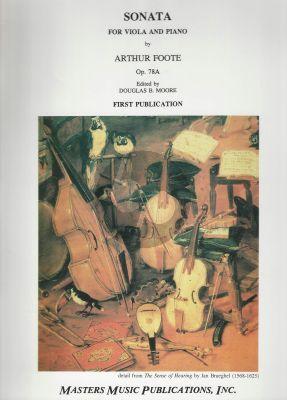 Sonata Op. 78A Viola and Piano