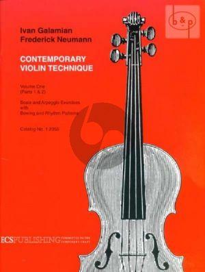 Contemporary Violin Technique Vol.1 Parts 1 & 2