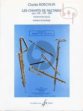 Les Chants de Nectaire Op.198 - 199 - 200