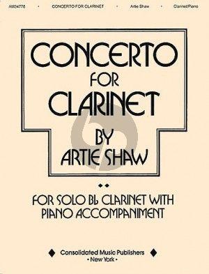 Shaw Concerto Clarinet-Piano