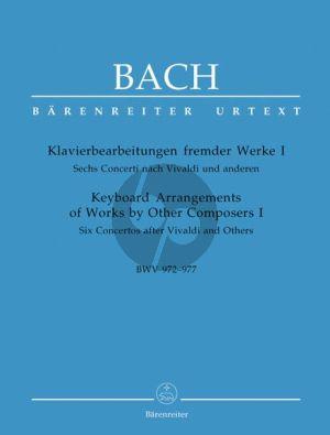Bach J.S. Klavierbearbeitungen fremder Werke I