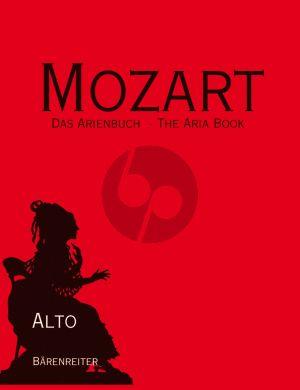 Mozart Arienbuch Alt (mit begleitheft englisch) (Lehmann) (Barenreiter-Urtext)