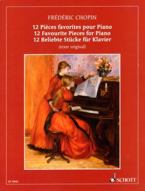 Chopin 12 Pieces Favorites Piano (original ed.)