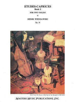 Wieniawski Etudes-Caprices Op.18 Vol.2 Violin (with Second Violin)