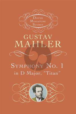 Mahler Symphony No.1 Study Score (Dover)