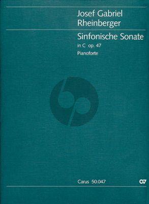 Rheinberger Sinfonische Sonate C-dur Opus 47 Klavier (Dorothee Göbel)