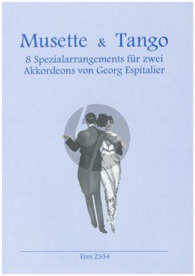 Musette & Tango für 2 Akordeons (Georg Espitalier)