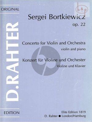 Concerto d-minor Op.22