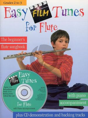 Easy Film Tunes for Flute and Piano (Bk-Cd) (edited by Stephen Duro)