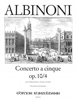 Concerto G-dur Op.10 / 4 Violine-Streicher-Bc