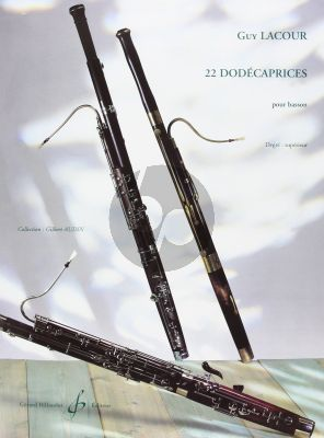22 Dodecaprices pour Basson