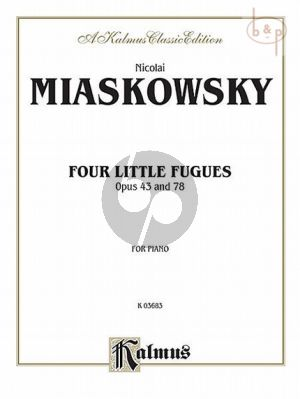 4 Little Fugues Op.43 and Op.78