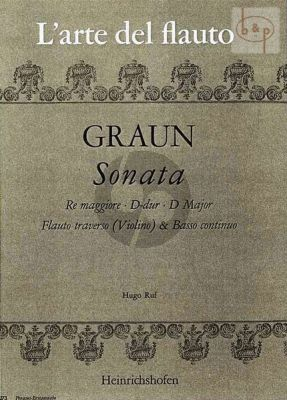Sonate D-dur (Flute[Vi.]-Bc)