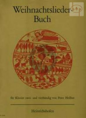 Weihnachtslieder-Buch (Piano 2 Hd and 4 Hd)