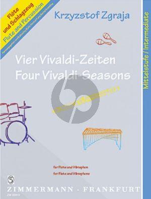 Zgraja 4 Vivaldi Zeiten Flöte mit Vibraphon