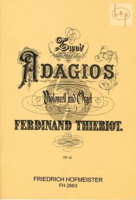 2 Adagios Op. 41 Violoncello und Orgel