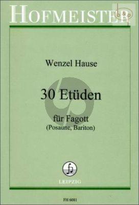30 Etüden Fagott