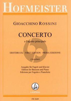 Rossini Concerto Fagotto Principale