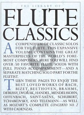 The Library of Flute Classics Flute - Piano