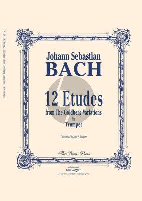 Bach 12 Etudes from Goldberg Variations Trumpet (arr. John Sawyer)