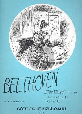 Beethoven Fur Elise WoO 59 2 Violoncellos (arr. Thomas-Mifune)