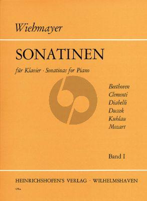 Album Sonatinen Vol.1 Klavier (edited by Wiehmayer)