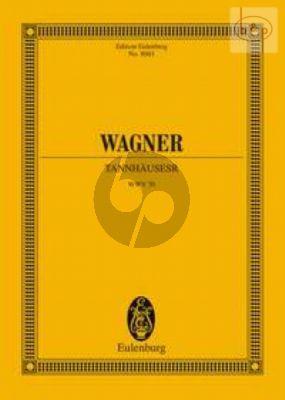 Tannhauser (WWV 70) (Study Score) (Hardcover)