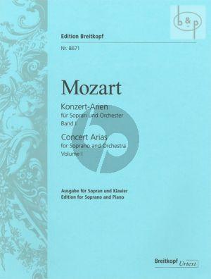 Konzert-Arien Vol.1 Fruhe Arien (Sopran-Orch.) (KA)