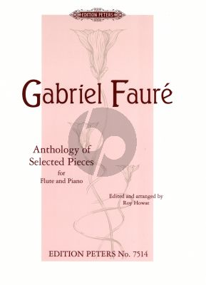 Faure Anthology of Selected Pieces flute-piano