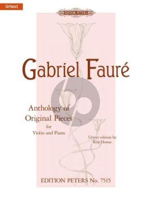 Anthology of Original Pieces Violin-Piano