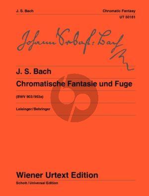 Bach Chromatische Fantasie und Fuge BWV 903/903A