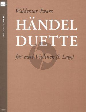 Handel Twarz Duette (1. Lage)
