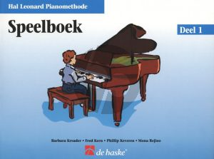 Piano Methode Vol.1 Speelboek (Alleen het Boek) (Barbara Kreader - Fred Kern - Phillip Keveren)