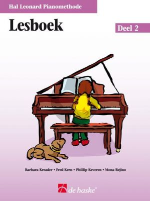 Piano Methode Vol.2 Lesboek (Alleen het Boek) (Barbara Kreader - Fred Kern - Phillip Keveren)