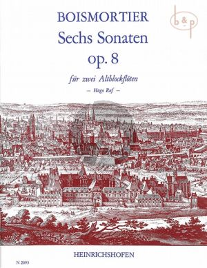 6 Sonaten Op.8