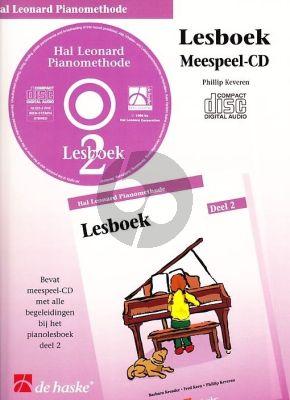 Piano Methode Vol.2 CD bij Lesboek (Alleen de Meespeel-Cd) (Barbara Kreader - Fred Kern - Phillip Keveren)