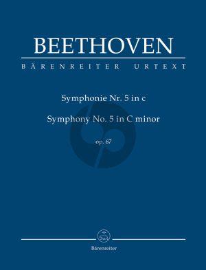 Beethoven Symphonie No.5 c-moll op.67 Study Score