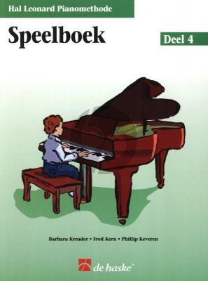 Piano Methode Vol.4 Speelboek (Alleen het Boek) (Barbara Kreader - Fred Kern - Phillip Keveren)